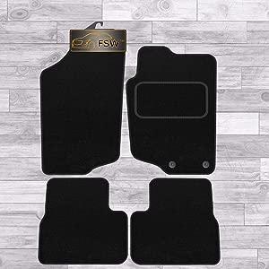 FSW 207 Tailored Classic Carpet Car Floor Mats Black