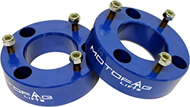 MotoFab Lifts F150-2.5BLUE - 2.5 inch Front Leveling Lift Kit That fits F150
