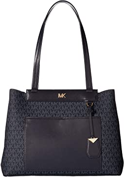 Meredith Medium East/West Bonded Tote