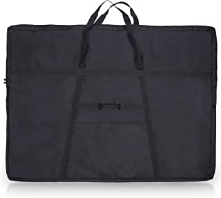 JJRING Black Dacron Portfolio Bag, Black, 36 inch by 48 inch