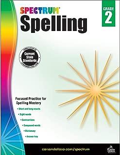 Carson-Dellosa Spectrum Spelling Workbook, Grade 2