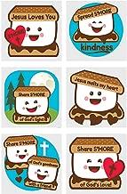 Fun Express - Jesus Loves You S'More Tatoos - Apparel Accessories - Temporary Tattoos - Regular Tattoos - 72 Pieces