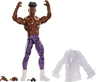 WWE Elite Collection Deluxe Action Figure with Realistic Facial Detailing, Iconic Ring Gear & Accessories, FTD07_GCL41, Ve...