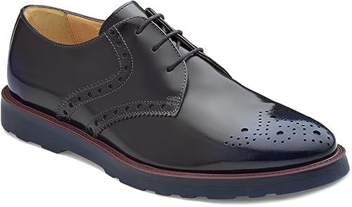Soldini - zapatos de Cordones para Hombre azul azul