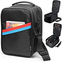 Sisma Travel and Storage Case for Nintendo Switch Console Dock Joy-Con Straps Pro Controller Cables Accessories -Black SVG180402SWB-B