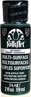 FolkArt Multi-Surface Paint in Assorted Colors (2 oz), 2918, Thicket