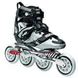 Roces 400721 Herren Model Lab Fitness Inline Skate US 7 schwarz/Silber