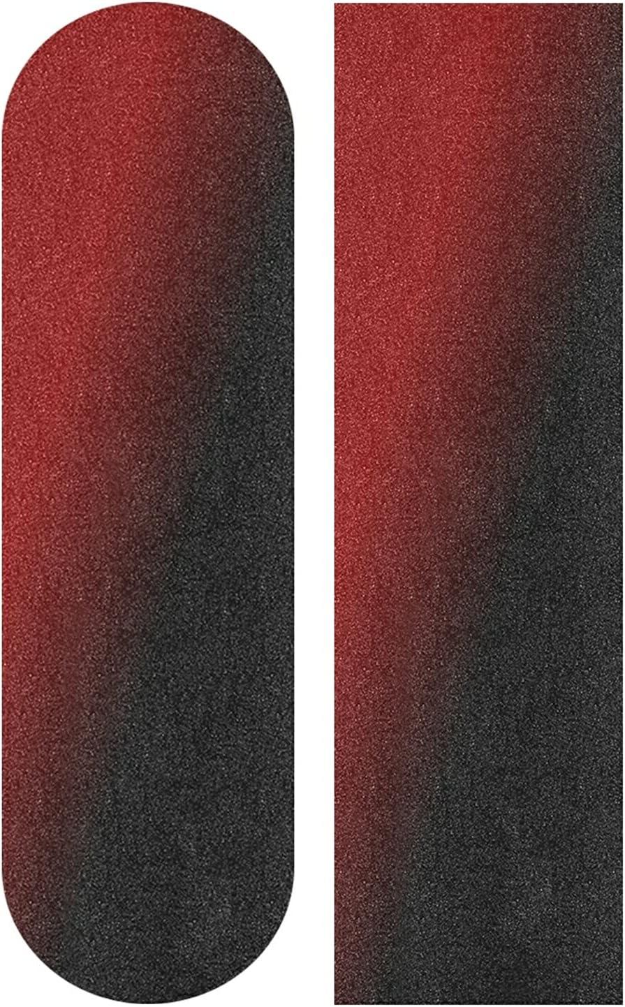 Skateboard Grip Tape Sheet cheap Weekly update 33x9inch Bubble Free Waterp Black Red