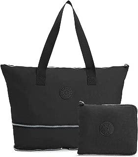 Women's Imagine Solid Packable Tote Bag