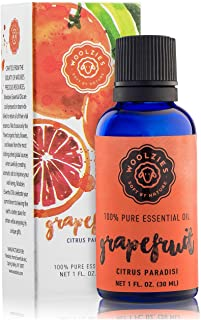 Woolzies 100% Pure & Natural Grapefruit Essential Oil 1 Oz | Refreshing, Stress Relieving, Cleansing, Mood Uplifting, Citr...