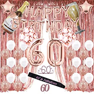 Best 60th birthday decorations for him Reviews