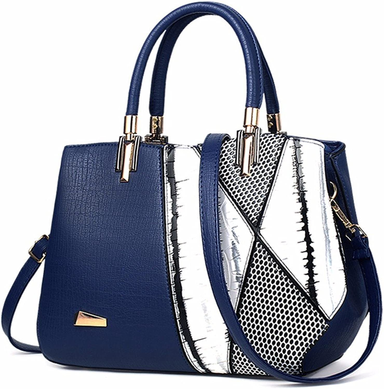 GQFGYYL Mode - und Casual - Handtasche für für für einzelne Schulter warf Schulter,blau B07H7KJMWW  Bestseller c9ece1