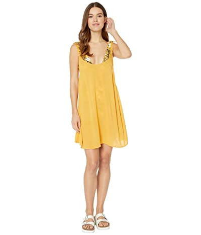 Roxy Chill Day Cover-Up Dress (Honey Gold) Women