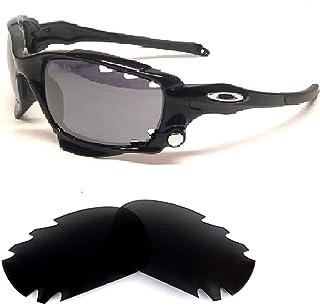 Galaxy Oakley Jawbone,Racing Jacket Sunglasses Interchangeable Lens Black Color Polarized