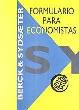 Formulario para economistas (Economía)