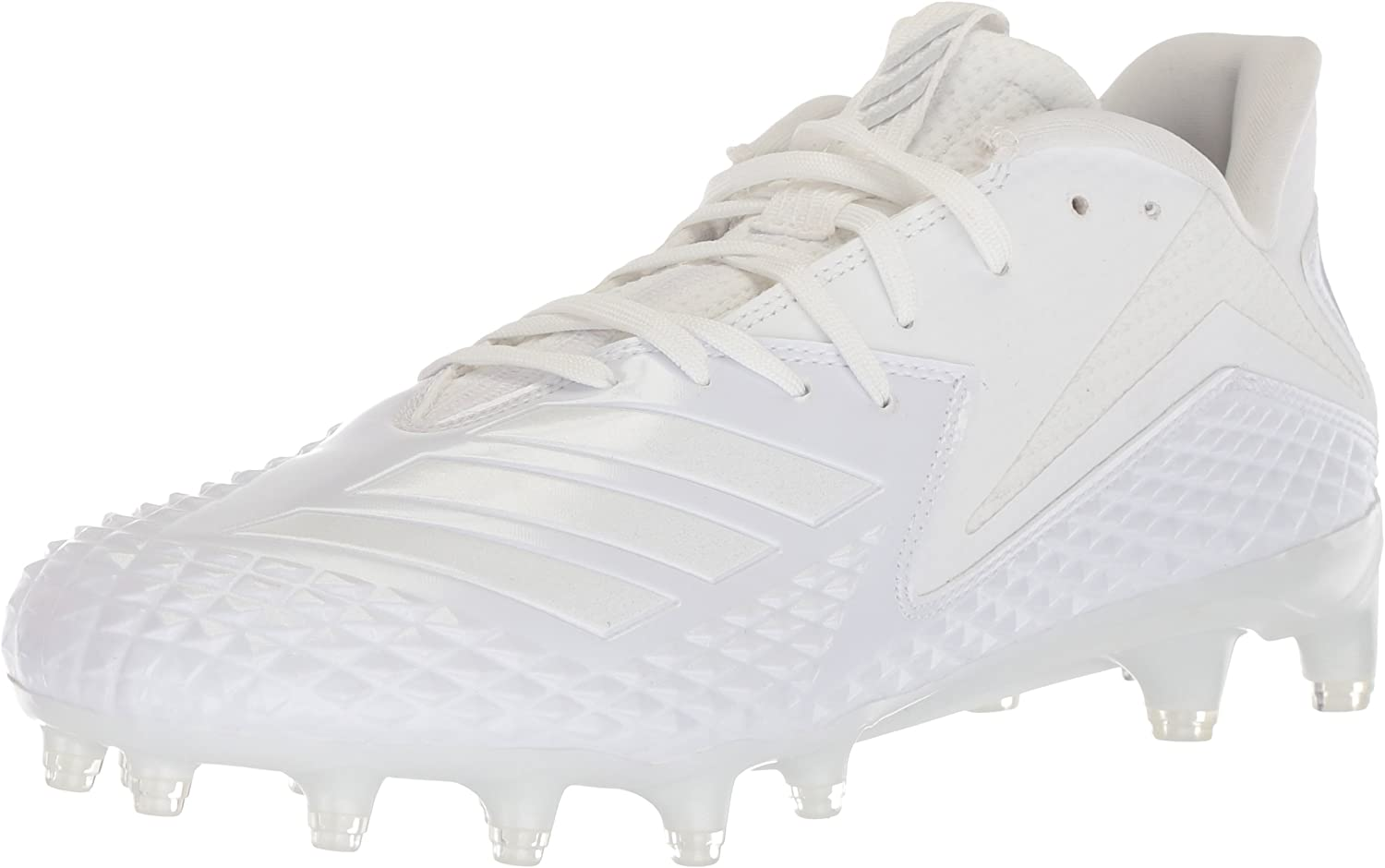 Adidas Men's Freak X Carbon Mid Football shoes White, 18 M US