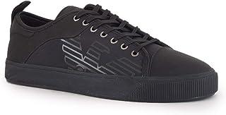 Emporio Armani Men's Trainers Black Size: 9