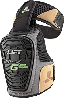 LIFT Safety Apex Gel Knee Guard (Black, One Size) - 1 Pair