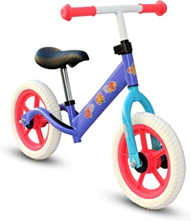 "Kids Child Push Balance Bike Bicycle 12"" Flowers"