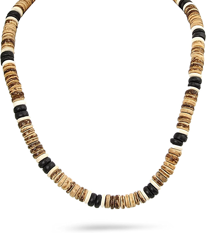 JewelryVolt Fashion Necklace Coconut Bread Indefinitely Beach Import Surfer Su Beads