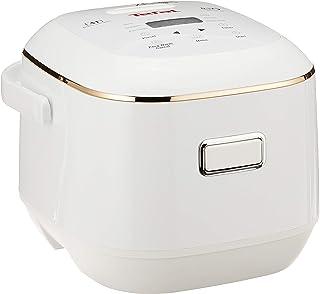 Tefal Mini Rice Cooker Fuzzy Logic w/Spherical Pot 0.7L RK6011 White