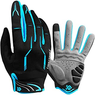 Cool Change Full Finger Bike Gloves Unisex Outdoor Touch Screen Cycling Gloves Road Moutain Bicycle Motorcycle Gloves