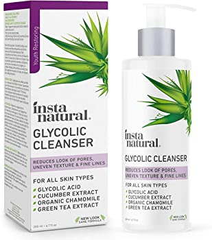 InstaNatural Glycolic Acid Facial Cleanser