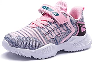GUBARUN Boys Lightweight Sneakers Girls Breathable Athletic Running Shoes