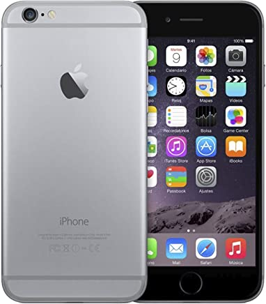 ed7fbd20c5c Apple iPhone 6 32Gb Gris Espacial - Mq3d2dl/A