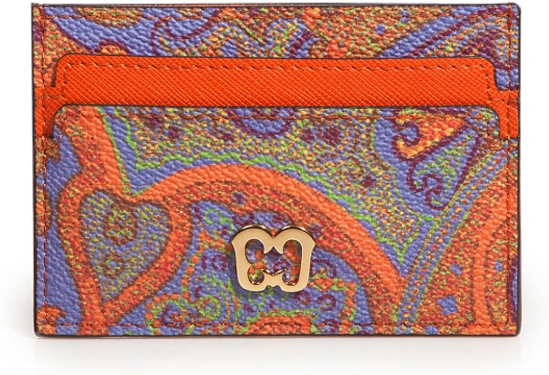 Eric Javits Luxury Designer  Women's Credit Card Wallet Handbag  Ankara