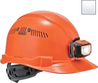 Vented Hard Hat with Light, Cap Style, Ratchet Suspension, Class C, Ergodyne Skullerz 8972LED