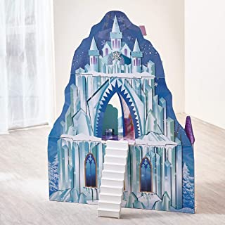 Teamson Kids - Ice Castle Wooden Dollhouse with 6 pcs Furniture for 12