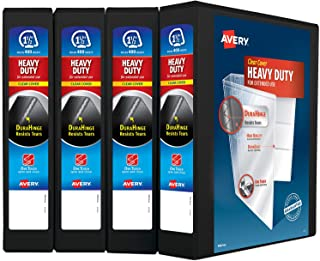 Avery Heavy Duty View 3 Ring Binder, 1.5