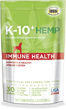 K-10+ Supplements for Dogs; Calming, Brain Health & Daily Hemp Supplements