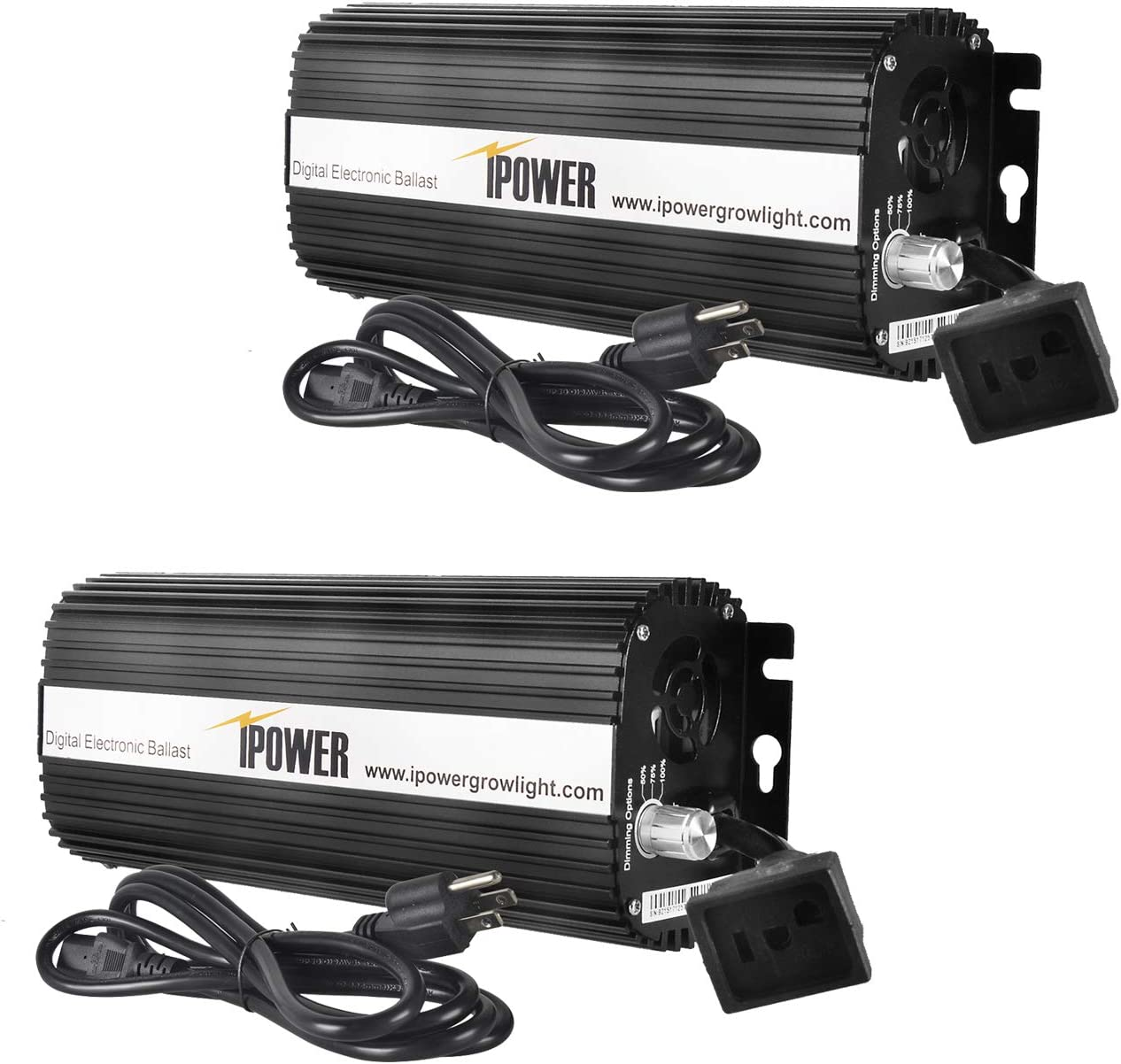 iPower Seasonal Wrap Introduction GLBLST400DX2 2 Pack Horticulture Dimmabl Free shipping anywhere in the nation 400 Digital Watt