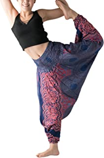 Bangkokpants Harem Pants Women's Hippie Bohemian Yoga Pants One Size