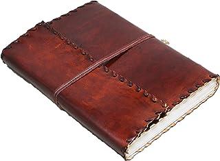 diario per appunti con scatola regalo formato A5 KXF quaderno classico vintage con copertina in morbida ecopelle diario per schizzi diario giornaliero 720 pagine a righe diario di lavoro