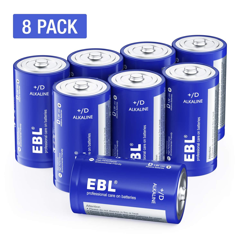EBL Batteries Alkaline Electronic Household
