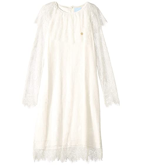 Lanvin Kids Long Sleeve Lace Dress (Big Kids)
