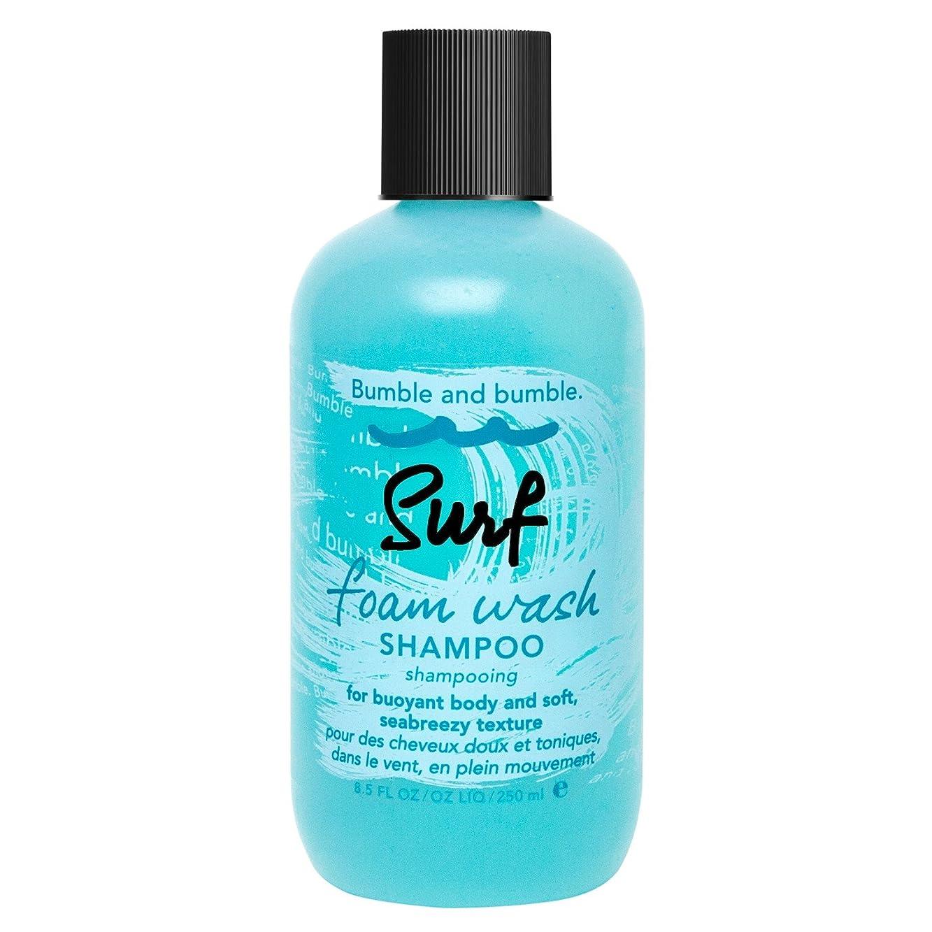 パック農奴出席バンブルアンドバンブルサーフ泡洗浄シャンプー250ミリリットル (Bumble and bumble) (x2) - Bumble and bumble Surf Foam Wash Shampoo 250ml (Pack of 2) [並行輸入品]