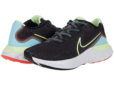 Nike Renew Run (Black/Barely Volt/Glacier Ice) Women