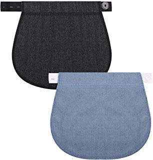 Bebe Pantalones La Solucion De Exceptional Fiaoen Biback Extensor De La Pretina Del Embarazo Elastico Ajustable 3 Pedazos Pantalones Elasticos Extensor De La Cintura De Maternidad Para Mujeres Embarazadas Madres Surfsmo Com