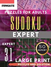 Sudoku Expert Puzzles for Adults Large Print: FunGate Activities Book | Extreme Difficult SUDOKU Puzzle adults entertainment (Sudoku Maths Book) (Sudoku Maths Book Large Print)