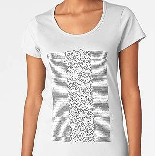 MIZEN - Furr Division White Premium Scoop - Cat Shirt - Cat T-shirts For Men Women - Cat Owner Cat Mom Dad Shirts - Cat Lover - Cat Gift Kids