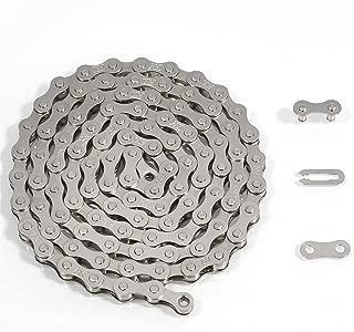 ZHIQIU FSC F410 1-Speed Bicycle Chain Single (1/2 x 1/8-Inch, 104L)