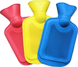 Garden Of Arts Durable THICK Rubber HOT WATER BOTTLE BAG WARM Relaxing Heat Cold Therapy Water Warm Bags Small Size