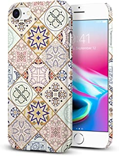 【Spigen】 スマホケース iPhone8 ケース / iPhone7 ケース ワイヤレス充電 レンズ保護 超軽量 指紋防止 シン・フィット デザイン・エディション 054CS22620 (アラベスク)