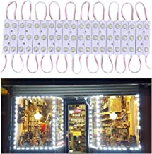 20 FT Store Window Light Kits 5730 3 Led Module Lights with AC Power Plug ON/Off Switch for Indoor/Outdoor Led Project