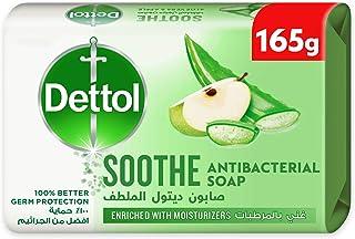 قالب صابون ديتول سوذ المضاد للبكتيريا، 165 جرام - برائحة الألوفيرا والتفاح