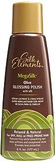 Silk Elements MegaSilk Olive Glossing Polish